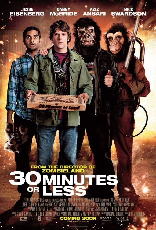 30 Minutes or Less poster