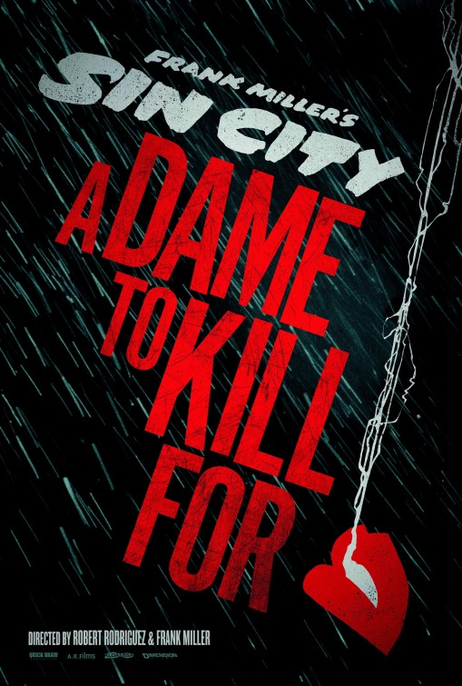 Sin City: A Dame to Kill For poster