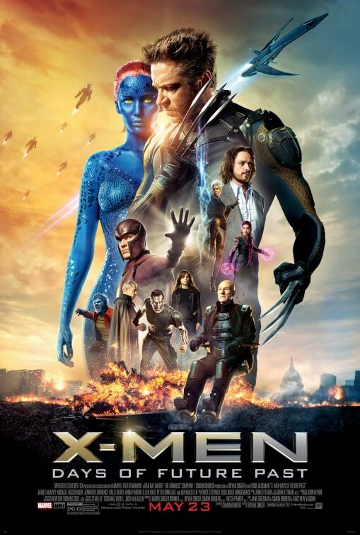 X-Men: Days of Future Past poster