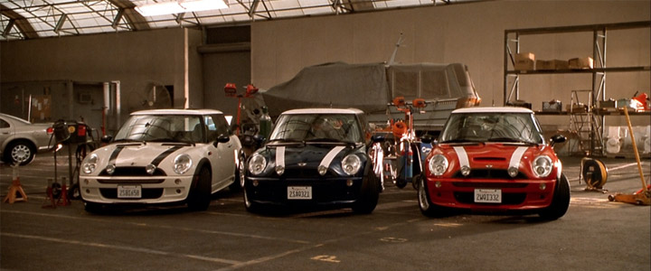 The-Italian-Job-Mini-Coopers