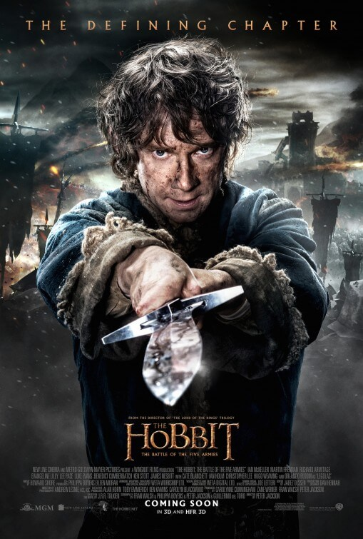 Hobbit: The Battle of the Five Armies poster
