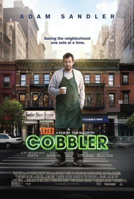 The Cobbler poster