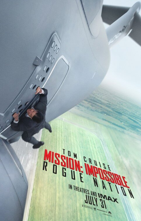 Mission: Impossible – Rogue Nation poster