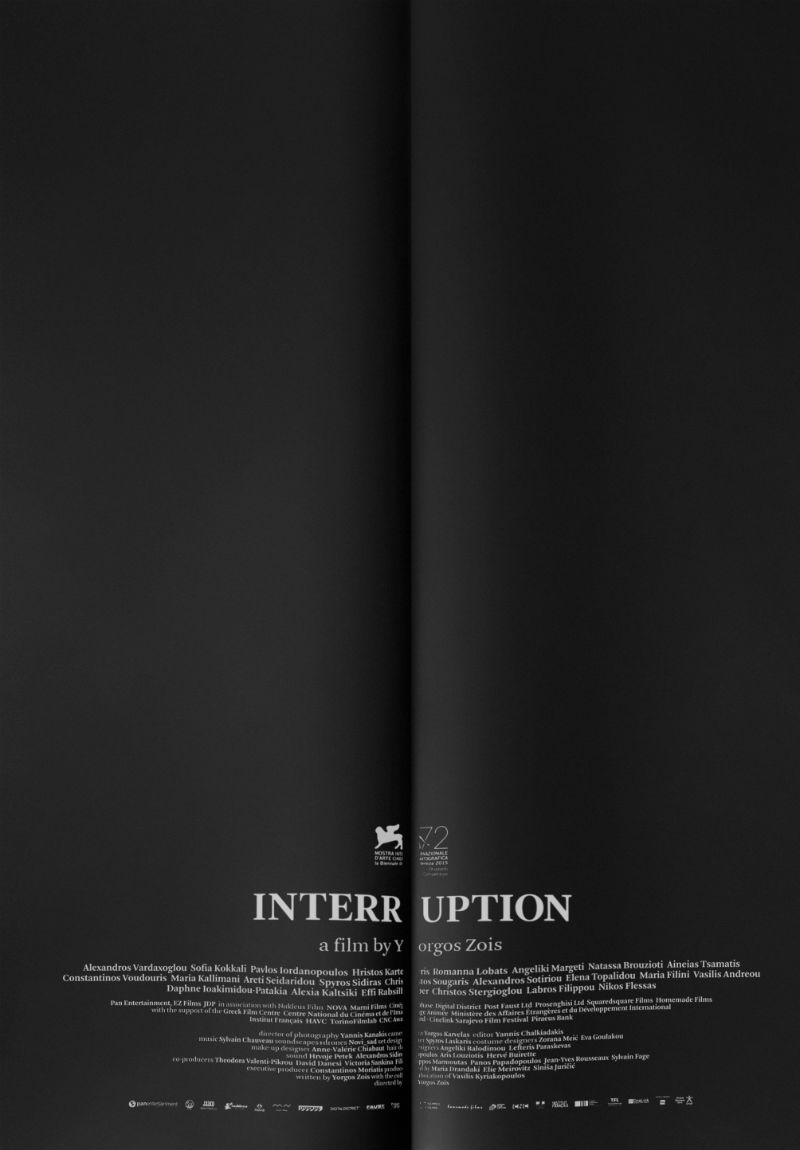 Interruption poster
