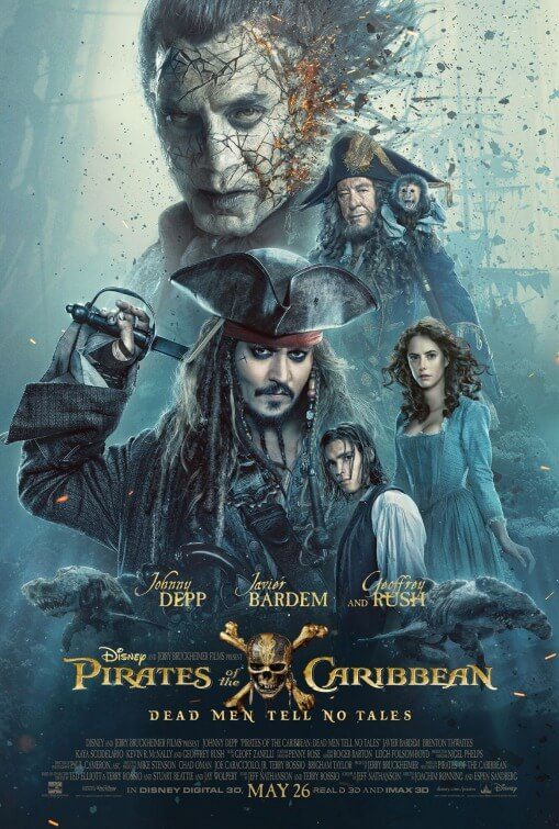 Pirates of the Caribbean: Dead Men Tell No Tales κριτικη