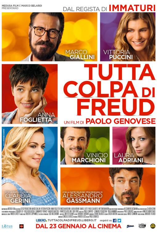 Tutta Colpa Di Freud poster