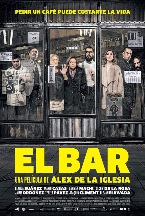 El Bar (The Bar) poster