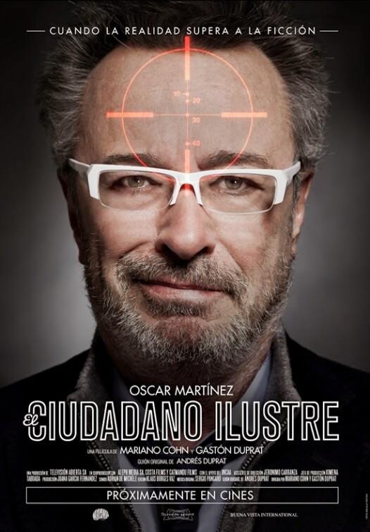 El Ciudadano Ilustre (The Distinguished Citizen) poster