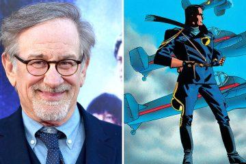 O Spielberg αναλαμβάνει τον υπερήρωα Blackhawk στη μεγάλη οθόνη