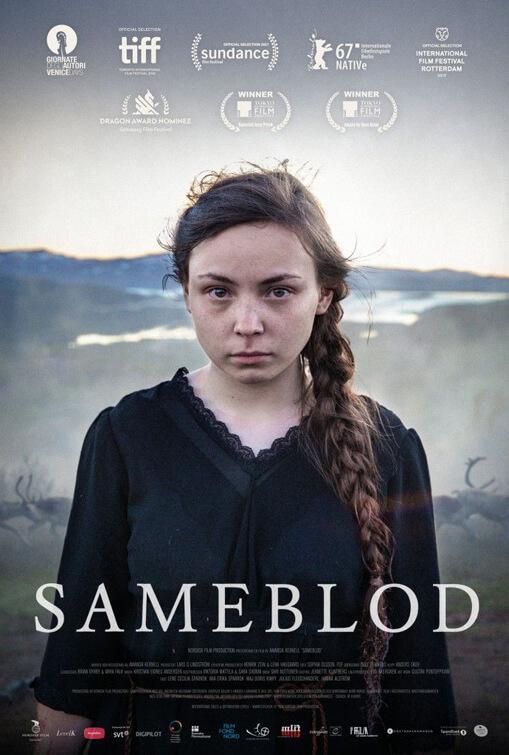 Sameblod (Sami Blood) poster