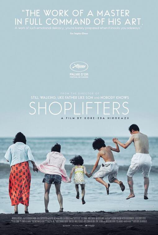 Shoplifters (Manbiki Kazoku) poster