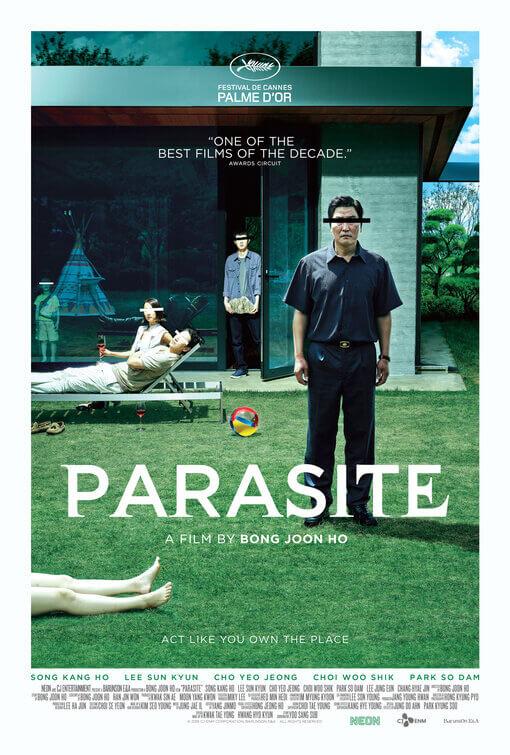 Parasite (Gisaengchung) poster