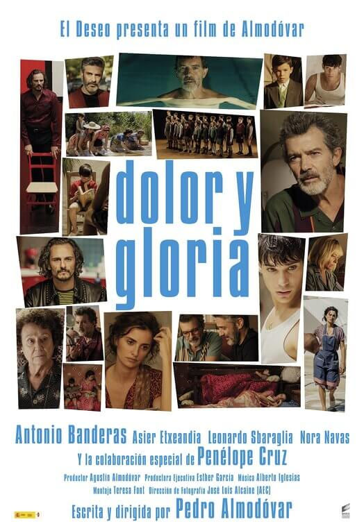 Pain and Glory (Dolor y Gloria) poster