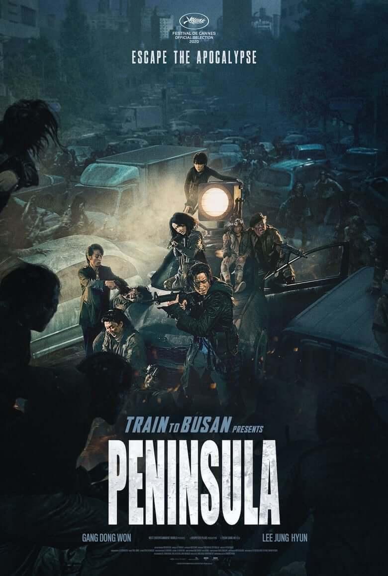 Peninsula (Train to busan 2) poster